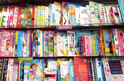 Free Children Drawing Books Stock Images - 48003984