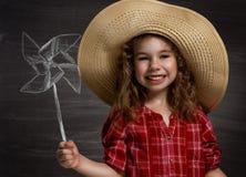 Children dream Stock Images