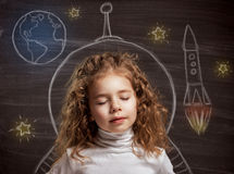 Children dream Royalty Free Stock Photos