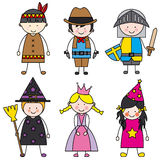 Children dressed Royalty Free Stock Photos