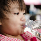 Children drink Stock Image