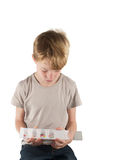 Children and drugs Stock Image