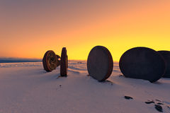Children Of The Earth monument on North Cape Royalty Free Stock Photo