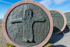 Children of the Earth Monument in Norway. Royalty Free Stock Photography