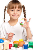 Children with Easter eggs Stock Images