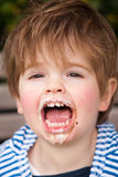 Children eating ice-cream Royalty Free Stock Images
