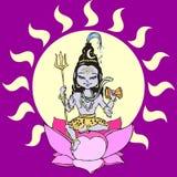 CHILDREN EDUCATION -religion. Shiva, the remover of illusion Royalty Free Stock Photo
