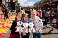 Children at Ekka royalty free stock photos