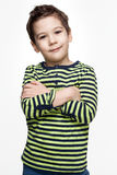 Children. Emotions. Little boy smiling Stock Photography