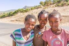 Children in Ethiopia Royalty Free Stock Photo