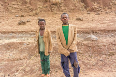 Children in Ethiopia Stock Images