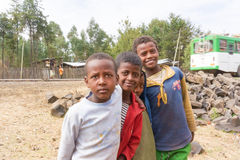 Children in Ethiopia Royalty Free Stock Image