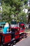 Train Ride through Oaks Amusement Park, Portland Oregon, USA stock photography