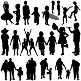 Children and family vector Stock Photos