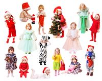 Children in fancy dress Royalty Free Stock Photo
