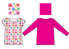 Children fashion industry Royalty Free Stock Photo