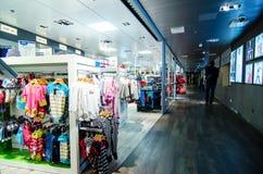 Children fashion shop Stock Photography