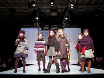 Children Fashion Show Royalty Free Stock Photos