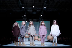 Children Fashion Show Stock Photography