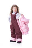 Children In Fashionable clothing Royalty Free Stock Image