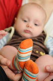 Children feet Royalty Free Stock Image