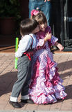 Children at the feria Royalty Free Stock Photo