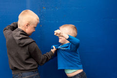Children fight Royalty Free Stock Photo