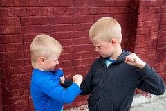 Children fight Stock Photography