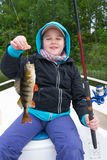 Children fishing Royalty Free Stock Images