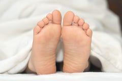 Children  foot Stock Photo