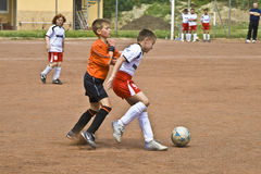 Children football Stock Image