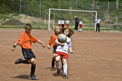 Children football Royalty Free Stock Images