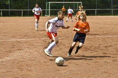 Children football Stock Photography