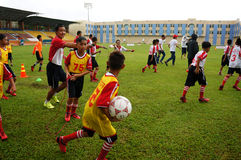 Children, football, soccer player, ho chi minh city, sport Stock Photo