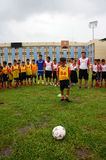 Children, football, soccer player, ho chi minh city, sport Stock Image