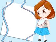 Children frame royalty free stock image