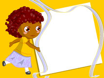 Children frame royalty free stock images
