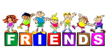 Children friends