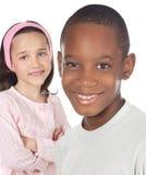 Children friends Stock Image