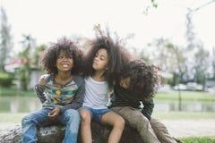 Children Friendship royalty free stock image