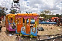Children fun day in Nairobi Kenya Stock Photo