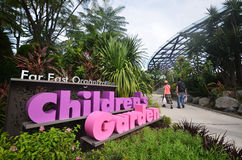 Children Garden in Garden By The Bay Singapore Royalty Free Stock Images