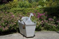 Children garden pot Royalty Free Stock Photos