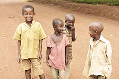 Children after the Genocide in Rwanda Stock Image