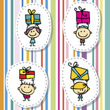 Children gifts Stock Photography