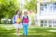 Children going back to school, year start Royalty Free Stock Photo