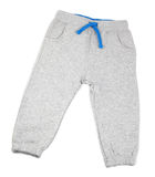 Children gray pants Royalty Free Stock Photos