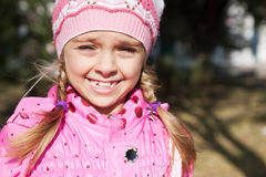 Children grimace Royalty Free Stock Image