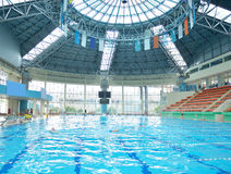 Free Children Group At Swimming Pool Royalty Free Stock Photo - 46823165
