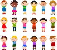 children group vertical Стоковая Фотография